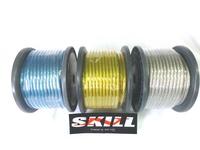 N-SKILL 耐熱OFCアーシングケーブル 14sq(6ゲージ相当 外径8.1mm) 30mボビン巻
