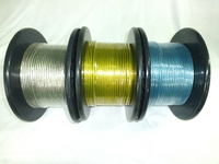 N−SKILL 耐熱OFCアーシングケーブル 5.5sq(10ゲージ相当 外径5.1mm)100m巻