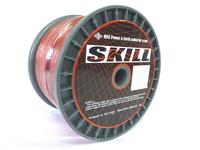 N-SKILL 耐熱OFCパワーケーブル 8.0sq(8ゲージ相当 外径6.5mm)