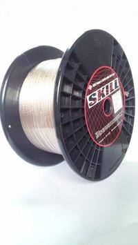切売り!! N-SKILL 耐熱 H-VFF OFCスピーカーケーブル CL 2.5sq(14ゲージ相当)