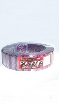 切売り!! N-SKILL 耐熱 H-VFF OFCスピーカーケーブル PU 2.5sq(14ゲージ相当)
