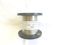 ステンレスワイヤー 0.8mm (SUS304)100mボビン巻