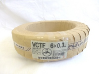 切売り!! VCTF 0.3×12c(ビニルキャブタイヤ丸型コード)