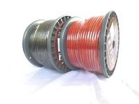 N-SKILL 耐熱 OFC ハイパワーケーブル 8sq(8G相当 外径6.5mm) 50mボビン巻