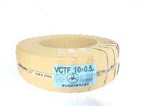VCTF 0.5×10c(ビニルキャブタイヤ丸型コード) 100m巻