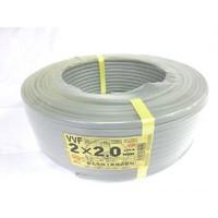 VVF 2c×2.0 (600Vビニル絶縁ビニルシースケーブル平形) 100m巻