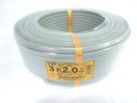 VVF 3c×2.0 (600Vビニル絶縁ビニルシースケーブル平形) 100m巻
