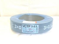 VCTF 0.5×3c(ビニルキャブタイヤ丸型コード) 100m巻