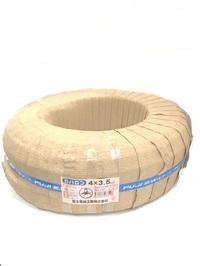 ラバロン VCT 3.5×4c 黒 100m巻(600Vソフトビニルキャブタイヤ丸形ケーブル)
