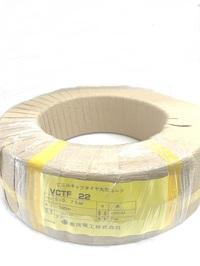 ソフト VCTF  0.75×5c 100m巻 (ソフトビニルキャブタイヤ丸型コード 倉茂電工VCTF22)