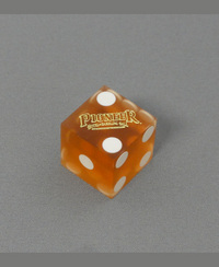カジノダイス「Pioneer Casino Dice Laughlin Yellow」