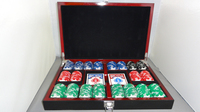 BICYCLE PREMIUM MASTERS POKER CHIP SET