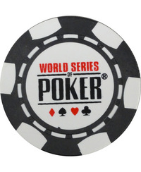ポーカー チップ 「WORLD SERIES OF POKER WSOP(BLACK)」